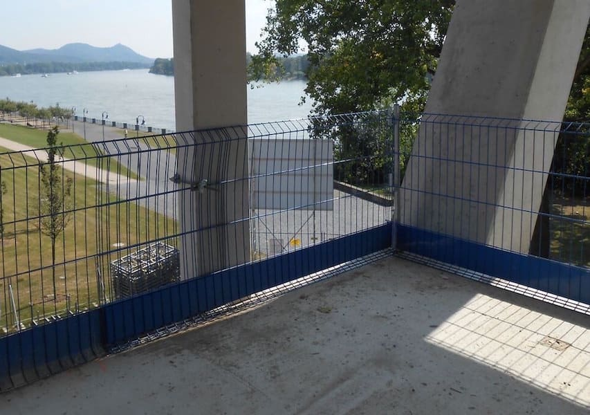 Steel Mesh Barrier - Fall Protection Systems for the Construction ...